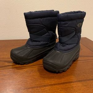 Thermal protection kids boots